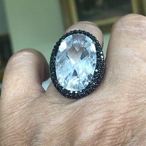 Swarovski Crystals Massive Statement Ring